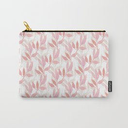 Watercolor pnk botanical seamless pattern Carry-All Pouch