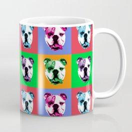 Pop Art English Bulldog Coffee Mug