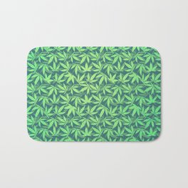 Cannabis / Hemp / 420 / Marijuana  - Pattern Bath Mat