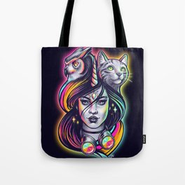 Rave Queen Tote Bag