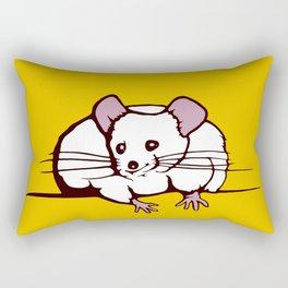 Fat mouse Rectangular Pillow