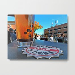 Best Brew in Witch City Metal Print