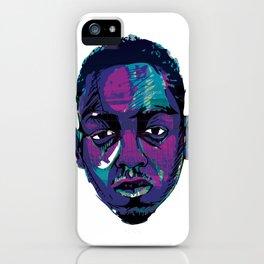 Control - Kendrick Lamar iPhone Case