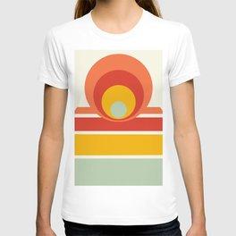 Circles & Stripes 03 T-shirt
