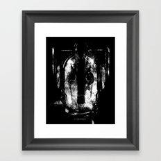 Cybermen Framed Art Print