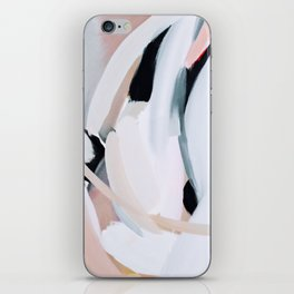 Abstract Brush Strokes, I iPhone Skin
