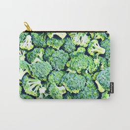 Broccoli Vert 2 Carry-All Pouch