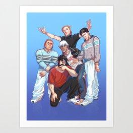 Kirkwall Boys Art Print