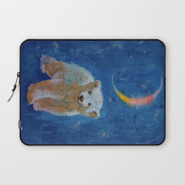 0ee7645fbd78 Polar Bear Cub Laptop Sleeve by michaelcreese