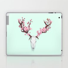CHERRY BLOSSOM SKULL Laptop & iPad Skin
