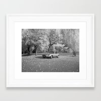 jaguar Framed Art Prints featuring Jaguar by Christina Nelson