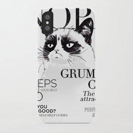 Grumpy the cat iPhone Case