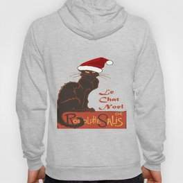 Le Chat Noel Christmas Vector Hoody