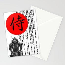 Samurai Design Stationery Cards