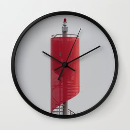 NORDERNEY - modern navigators light Wall Clock