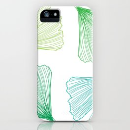 Ginkgo Leaves_color iPhone Case