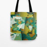 planes Tote Bags featuring Planes by DARWIN STEAD