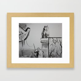 A Cheap Joke and a Forgery Framed Art Print