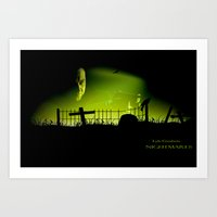 movie posters Art Prints featuring Nightmares   posters by Outlaw Features, Ltd