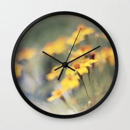Orange zest Wall Clock