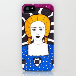 Heartless fall iPhone Case