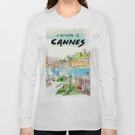 Winter In Cannes Long Sleeve T-shirt
