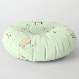 Llamas Floor Pillow