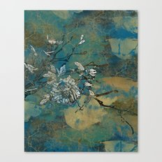 This Little Flower Canvas Print