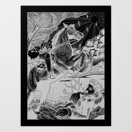 Edward Lear Illustration Art Print