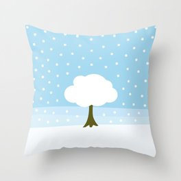 Winter -Extended edition Throw Pillow