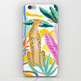 Panther in Jungle iPhone Skin