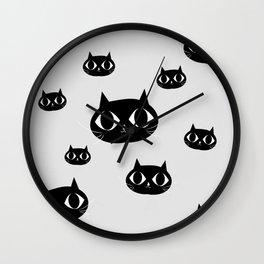 Catscatscats Wall Clock