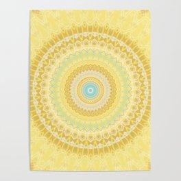 Marigold Mandala Poster