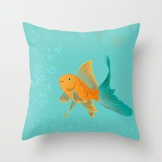 Approaching Dusk - Under The Sea Throw Pillow