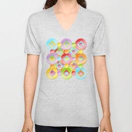 Rainbow Confection Unisex V-Neck