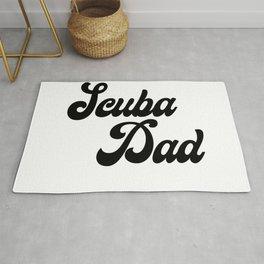 Scuba Dad Rug