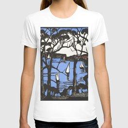 """""""Sidney Heads"""" by Margaret Preston T-shirt"""