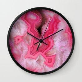 Rosa Stone Wall Clock
