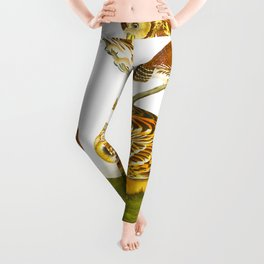Burrowing Owl Illustration Leggings
