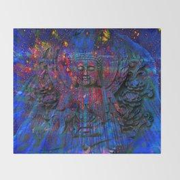 Buddha dream II Throw Blanket