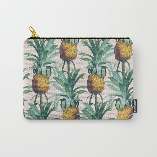 Pineapple Trellis Carry-All Pouch