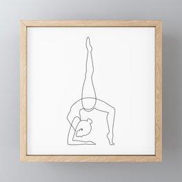 Inhale - Exhale Framed Mini Art Print