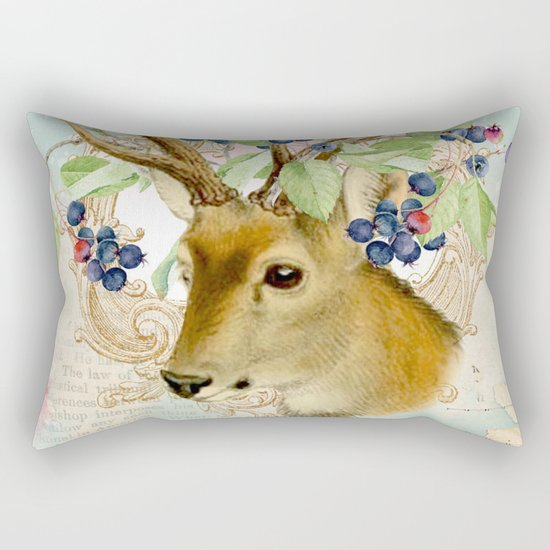 Winter animal #13 Rectangular Pillow