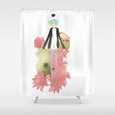 Clog Shower Curtain