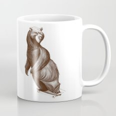 Skatepark Bear Coffee Mug