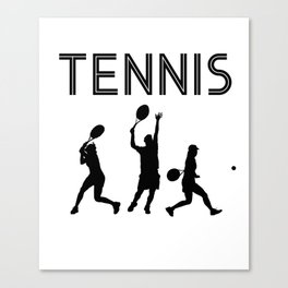 Tennis sport gift Canvas Print