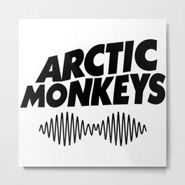 ArcticMonkeys Premium Tour Logo Metal Print