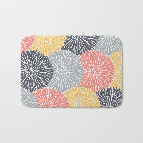 Flower Infusion Bath Mat