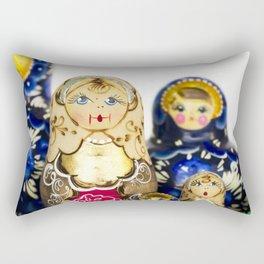 Babushka nesting dolls Rectangular Pillow