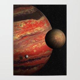WASP-6b, Hot Jupiter Poster